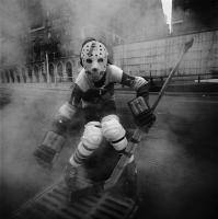 Hockey Player, New York City