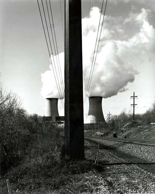 Limerick #27, Tracks, Power Lines & Cooling Towers, Linfield, PA