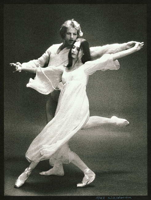 Chaconne, Peter Martins and Susan Farrell