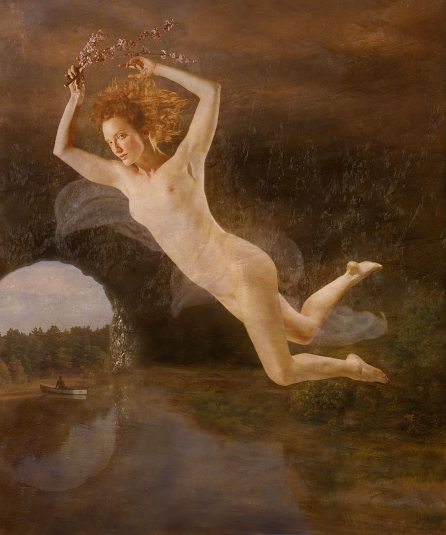 Flight of Persephone (Female Nude)