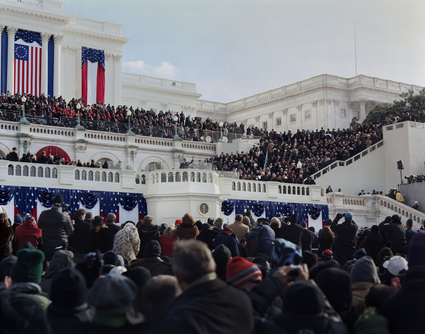 Obama Inauguration (After Swearing In)