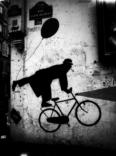 Bicycle Art on Wall