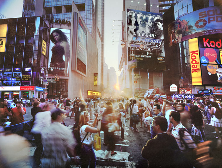Times Square Solstice, NY
