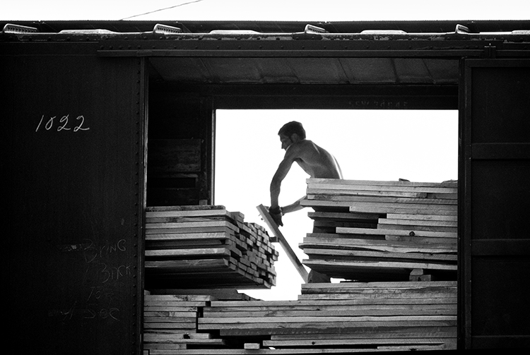 Lumber Loading, Hartville, Ohio (From See-Saw Series)
