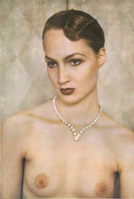 Diamond Necklace (Rebecca), Vogue