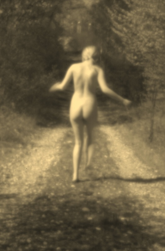 Female Nude #12 (On the Path)