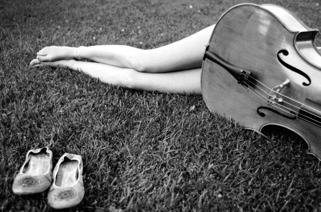 Feet and Cello