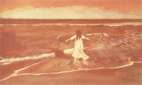 Margot (Woman Walking out to Ocean)