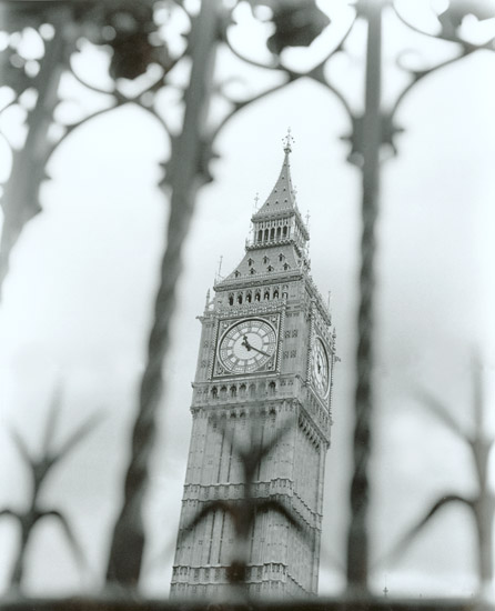 The Clock Tower of Parliament, London, 2001
