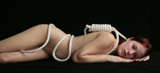 Going to Heaven #1 (Noose and Female Nude)