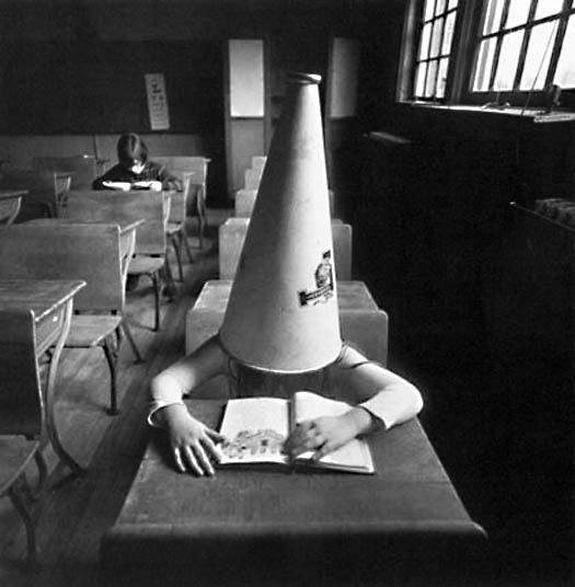 Girl with Dunce Cap, New York