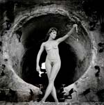 Arthur Tress - Twinka at Arles, France (Female Nude) Click for more Images