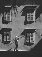 Stanko Abadžic - Man with Ladder Click for more Images